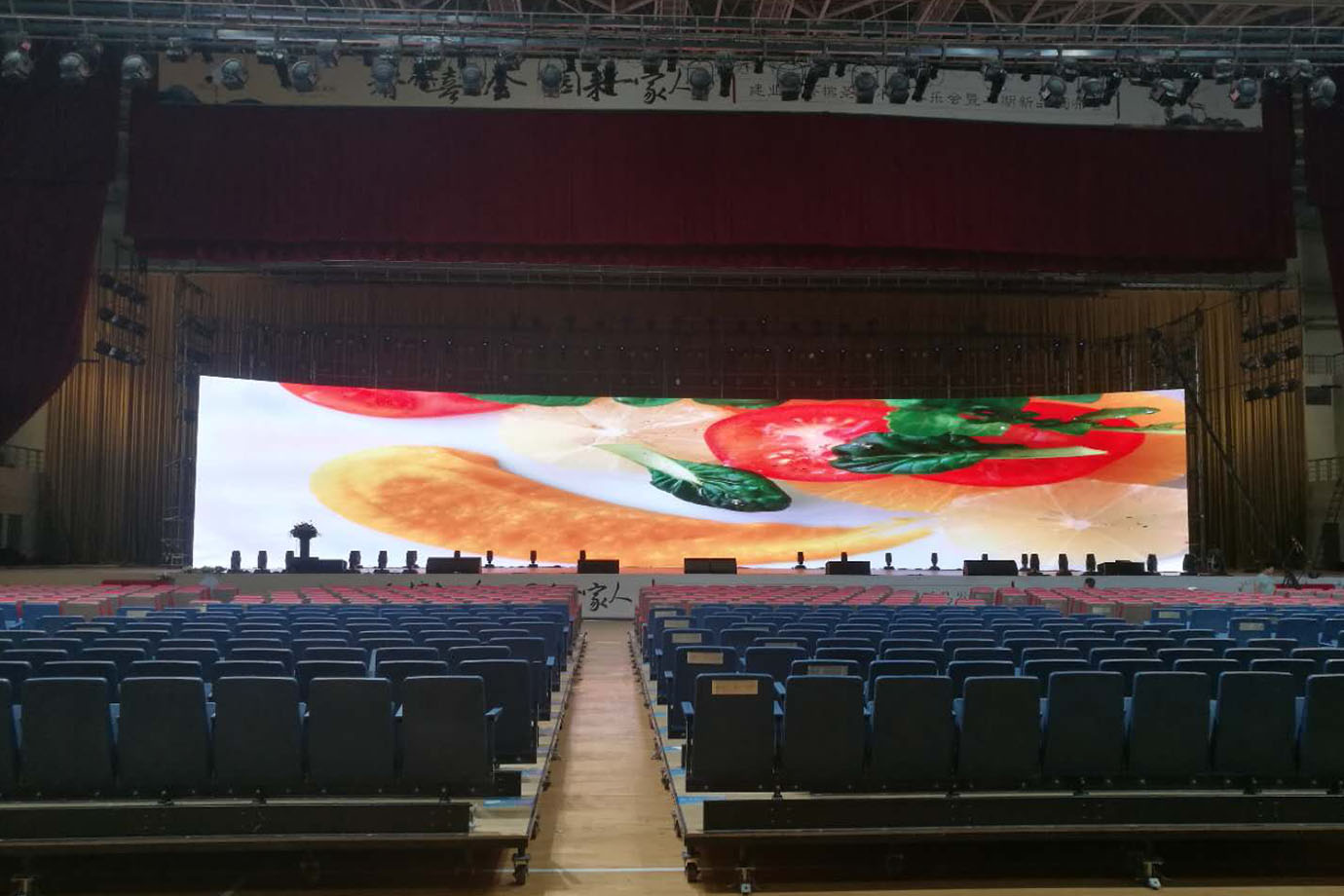 Indoor LED Screen Panels On Rent