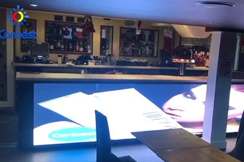 P2 Permanent LED Display Screen In Bar,UK