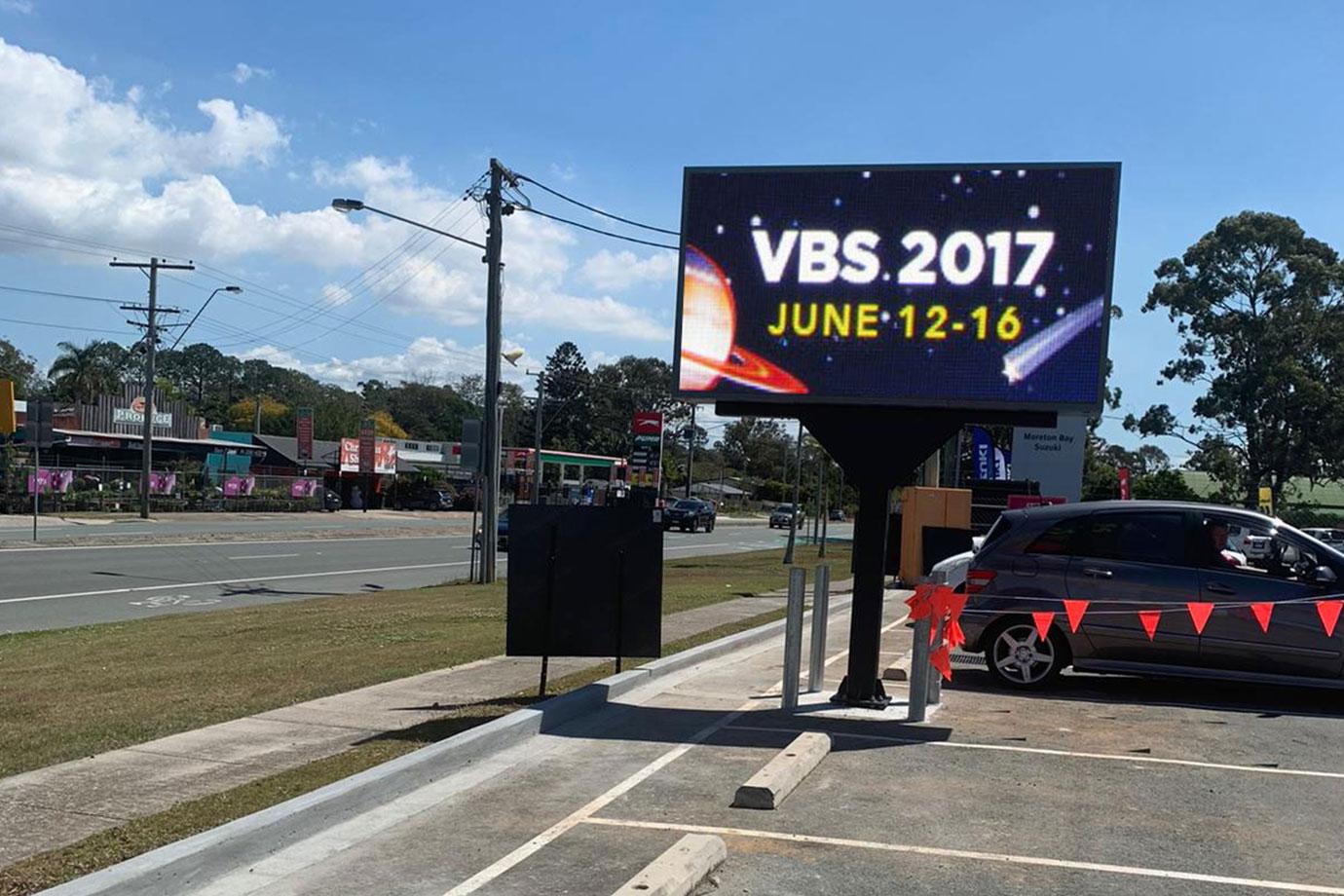 Mars P6 LED Billboard Display