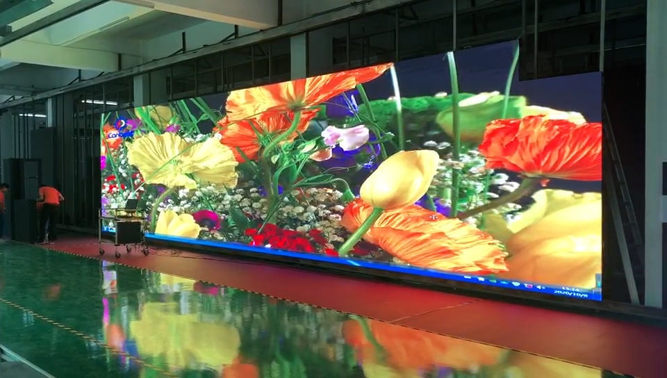 40sqm RX390 Outdoor LED Screen is ready to Japan
