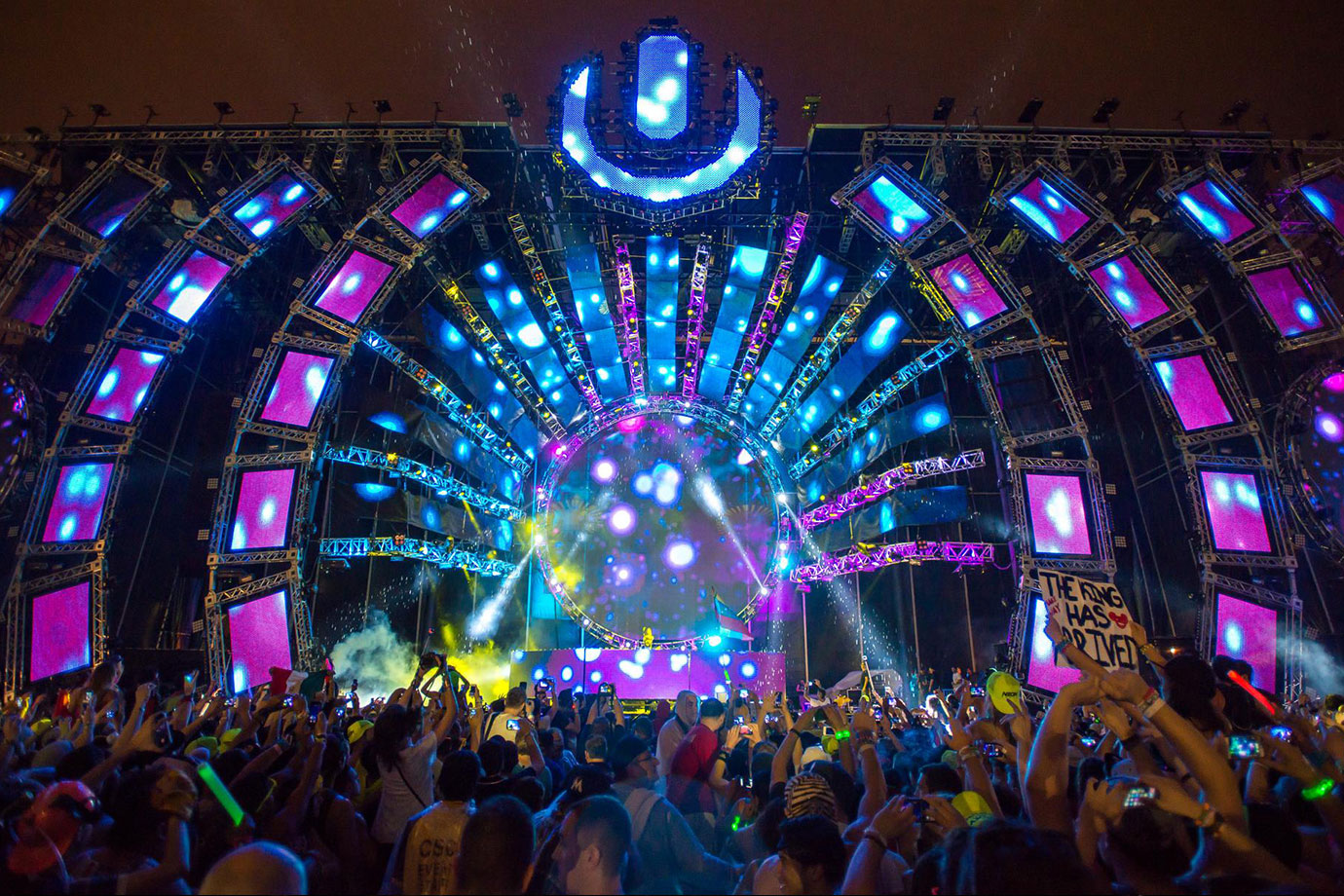 Music festival LED Wall