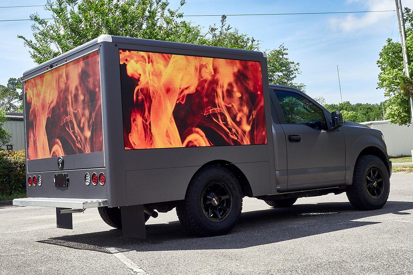 Mobile Truck LED Display Advertising