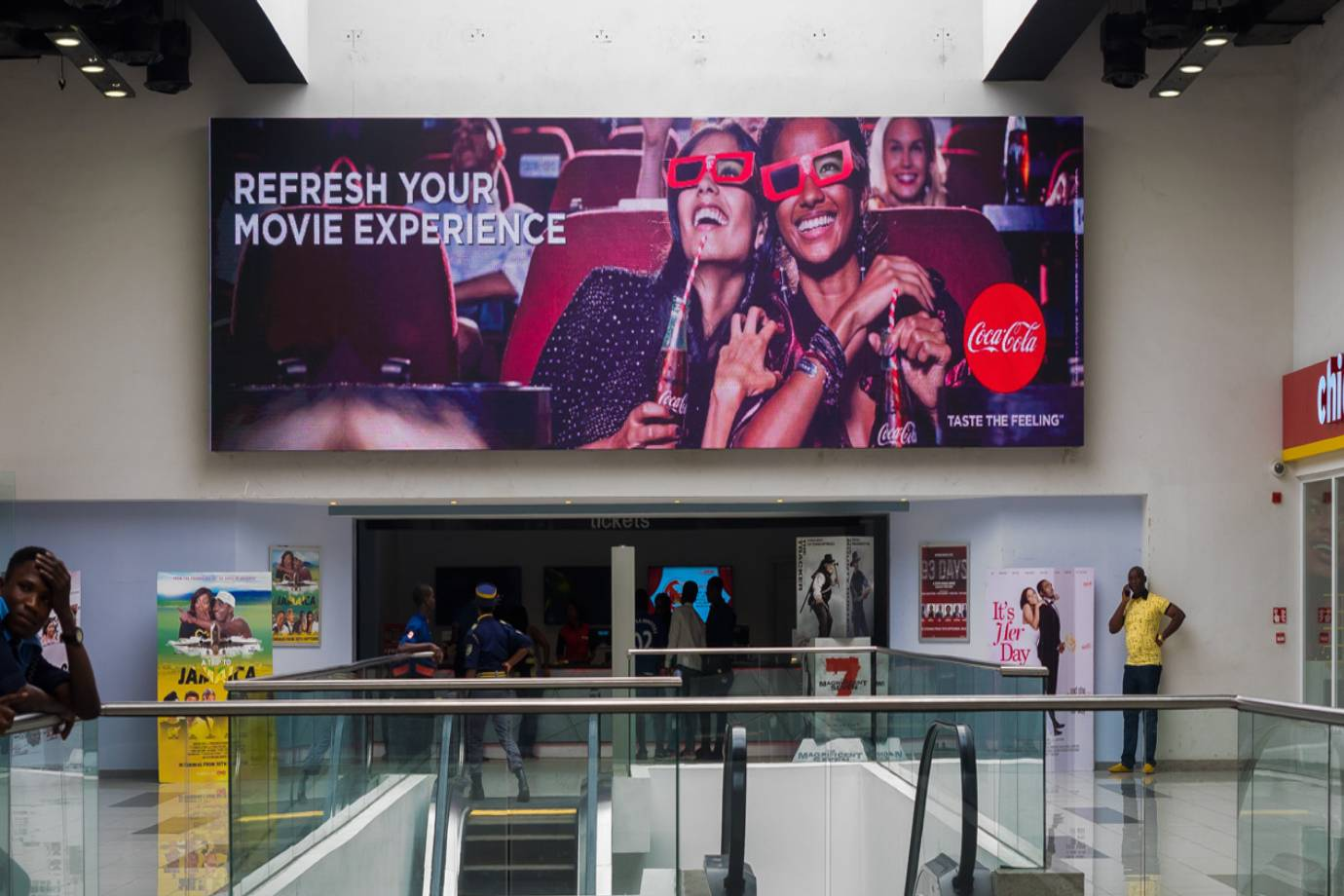 Retail LED Display for Shopping Mall