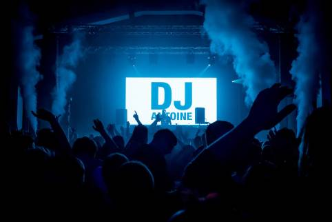 DJ Booth LED Display for Club
