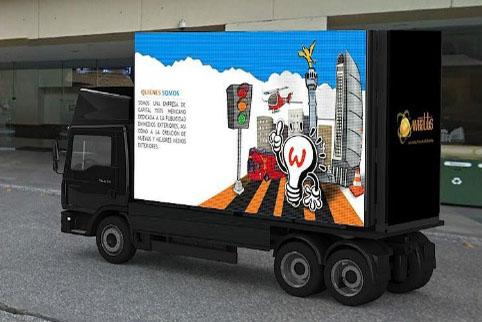 Truck Trailer LED Billboard Display p4