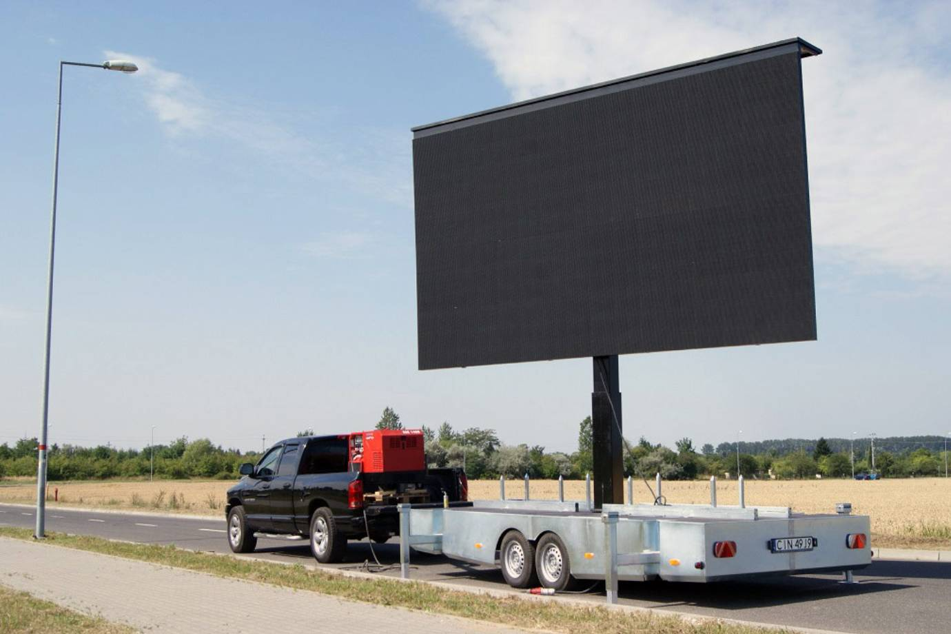 Trailer LED Display