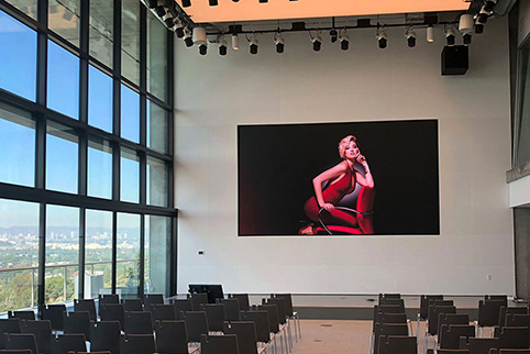LED Wall Display for Meeting Room