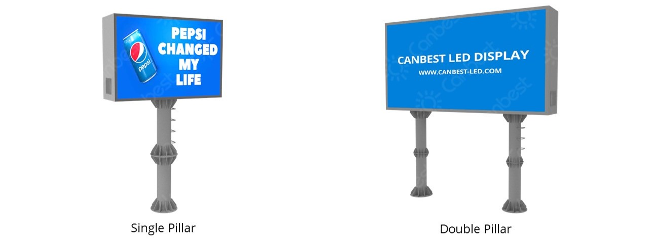 Canbest Patented Steel Structure for LED Display Screens