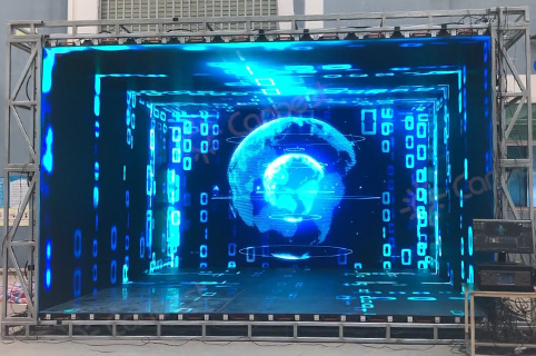 Virtual Production LED Wall